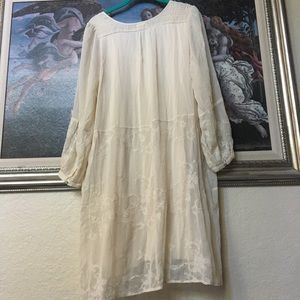 Anthropologie Dresses - Anthropologie Tiny Dress Size Medium in Cream